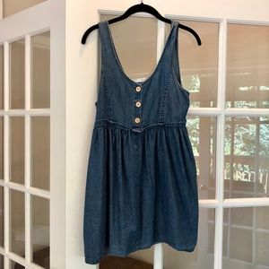 Forever 21 Babydoll Denim Dress